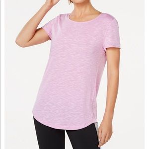 🎄NWT! Ideology cross-back T-shirt in pink